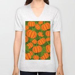 C13D Pumpkin Harvest Unisex V-Neck