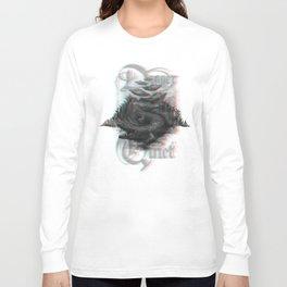 Crocodile anaglyph 3D Long Sleeve T-shirt