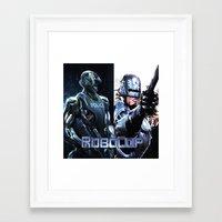 robocop Framed Art Prints featuring Robocop by store2u