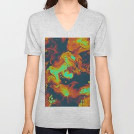 DAY LIGHT AND BAD DREAMS IN A COOL WORLD FULL OF CRUEL THINGS Unisex V-Neck