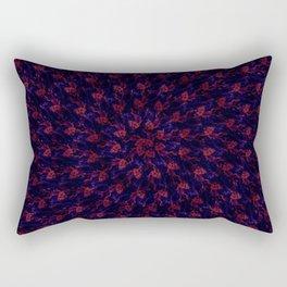 Spiral Bouquet Pattern Rectangular Pillow