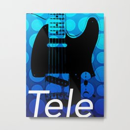 Guitar Enthusiast Series – Tele Metal Print