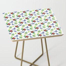 Butterflies and Flowers Side Table