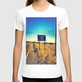 San Francisco to Los Angeles T-shirt