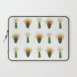 Palm Leaf and Flower Offerings Laptop Sleeve