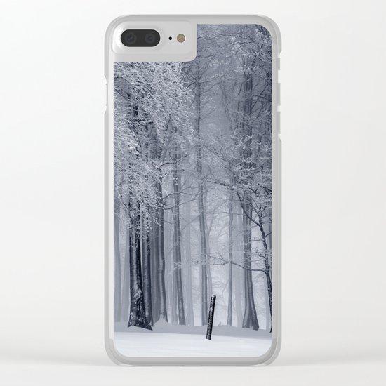 Peaceful Escape Clear iPhone Case