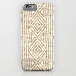 KALI RUSTIC STRIPE iPhone Case