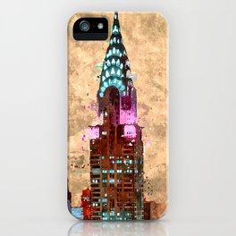 Chrysler Art Deco Building  iPhone Case