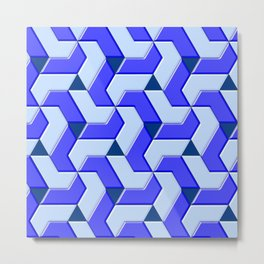 Geometrix XX Metal Print