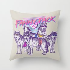 Fanny Pack Throw Pillow