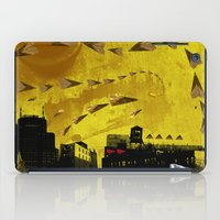 airplanes iPad Cases featuring airplanes and cigarettes by Trevor Bittinger