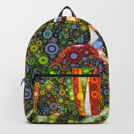 Dotty Bird of Paradise Backpack