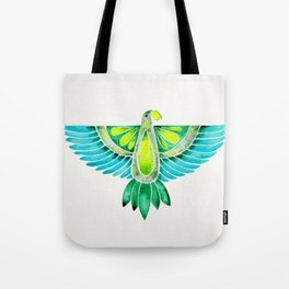 Parrot – Blue & Green Tote Bag