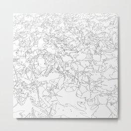 fallen leaves, drawing Metal Print