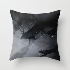 Lesser Evils Throw Pillow
