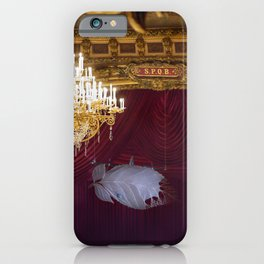 Behind The Curtain iPhone Case