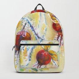 Winter Rosehips Backpack