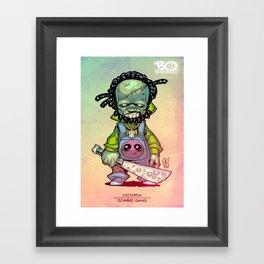 Z gang - Mr. Octopux - Villains of G universe Framed Art Print