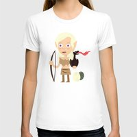 mother of dragons T-shirts featuring Elven Mother of Dragons by Haragos