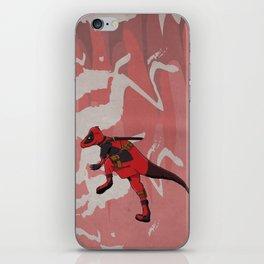 Deadpachycepoolosaurus - Superhero Dinosaurs Series iPhone Skin