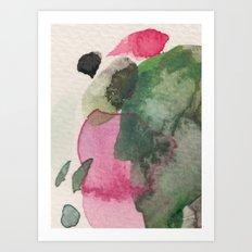 Longing for spring Art Print