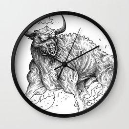 HELL'S ZODIAC - TAURUS Wall Clock