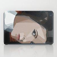 princess leia iPad Cases featuring Princess Leia  by Topaz Arrow
