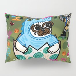 What Came First The Pug Or The Egg? Pillow Sham
