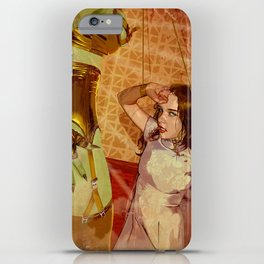 Attack of the 11 foot mars woman iPhone Case