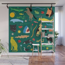 Lawn Party Wall Mural