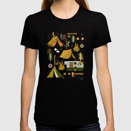 Camping Kit – Olive Palette T-shirt
