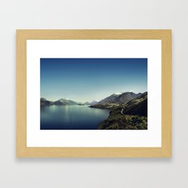 On my way to Glenorchy (Things happened to me) Framed Art Print