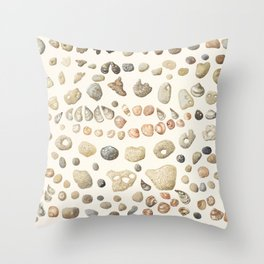 Sea shore Netania Throw Pillow