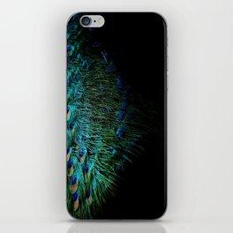 Peacock Details iPhone Skin