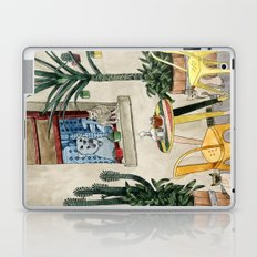 Cats Cacti and a Dog Laptop & iPad Skin