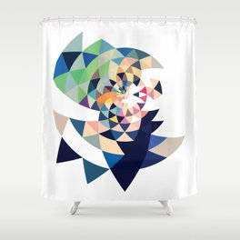 Datadoodle Eye of the Tiger Shower Curtain