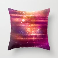 halo Throw Pillows featuring Sun Halo by Tom Lee