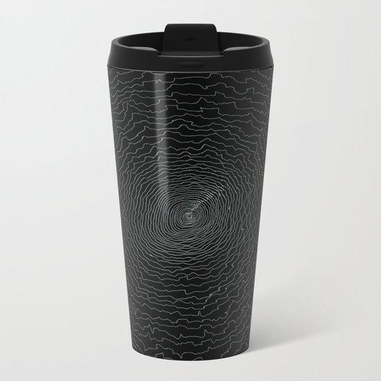 Spiral Metal Travel Mug