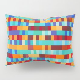 Bach Invention (Fire and Iceberg Colours) Pillow Sham