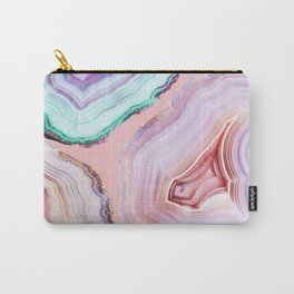 Mineral Agates #Glam collection Carry-All Pouch