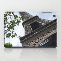 eiffel tower iPad Cases featuring Eiffel Tower  by Françoise Reina