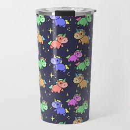 Nightime Unicorns Travel Mug