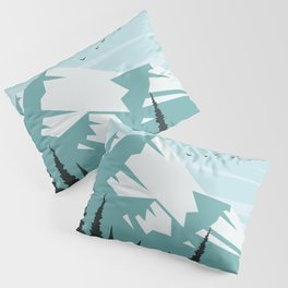 Winter Landscape Pillow Sham