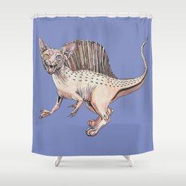 Spinosaurus Sphynx Shower Curtain