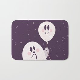 Pink Ghost and Friend Bath Mat