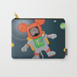 Space Mouse floating in space Carry-All Pouch