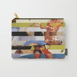 Glitch Pin-Up Redux: Farrah Carry-All Pouch