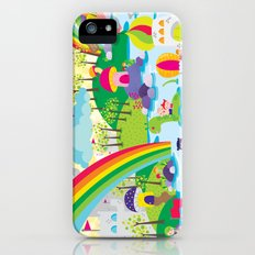 rainbow land iPhone (5, 5s) Slim Case