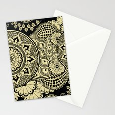 Love Mandala In Neutral Stationery Cards
