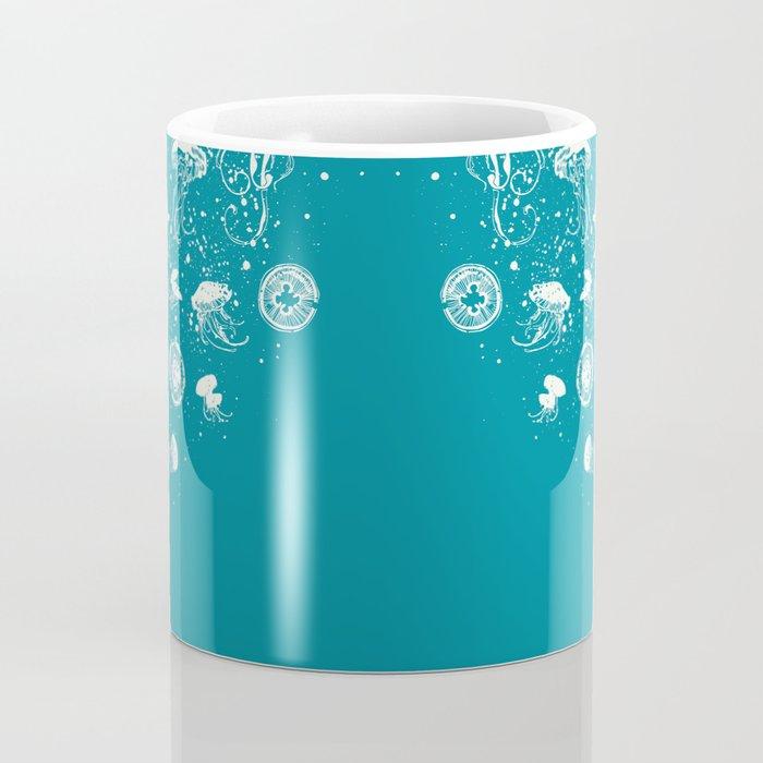 Journey in Blue Coffee Mug